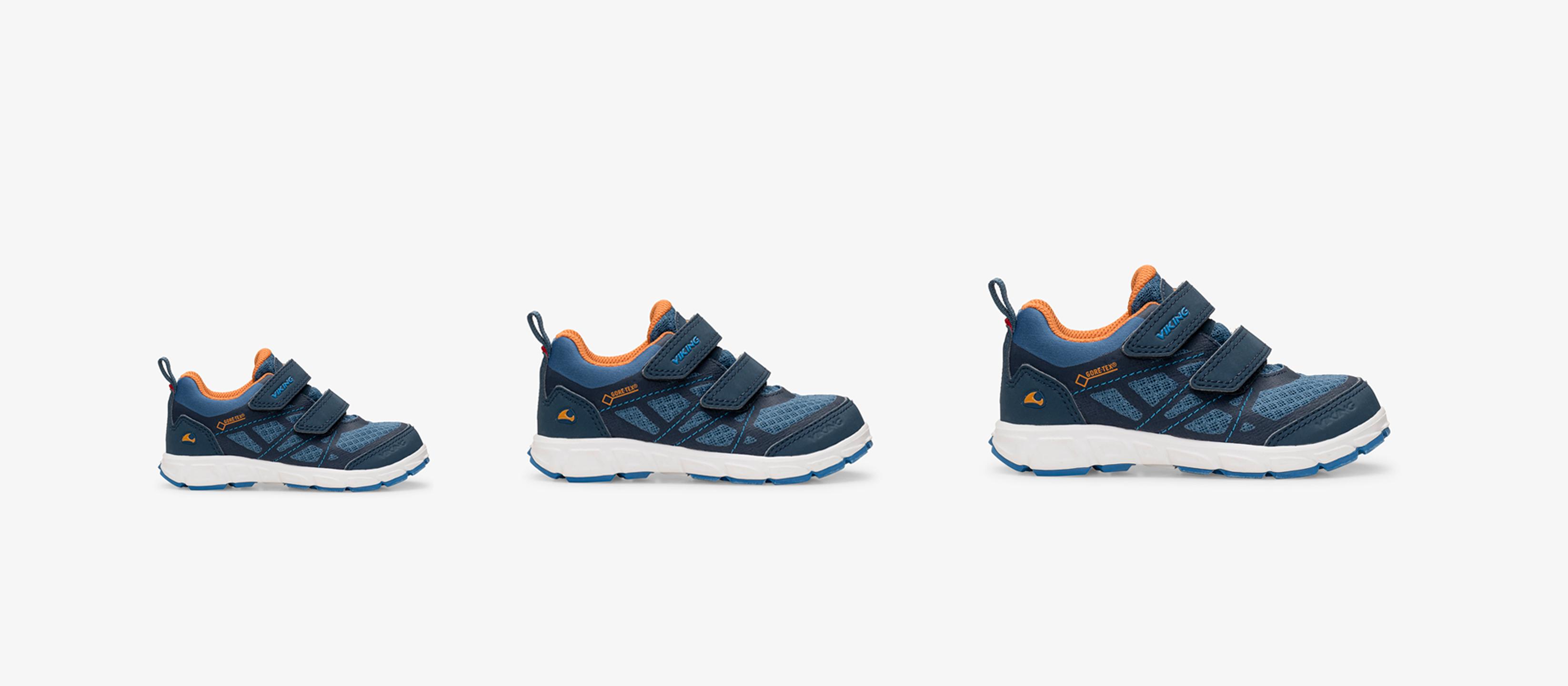Blue kids shoes